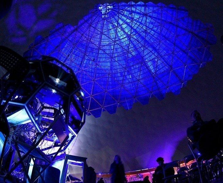 В Санкт-Петербурге открылся крупнейший планетарий мира