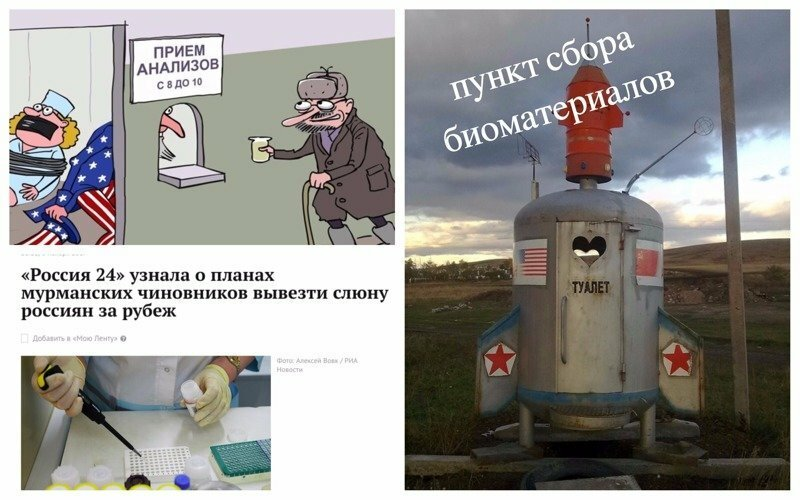 Слюну россиян хотят вывезти за рубеж: реакция соцсетей на принудительный сбор биоматериала
