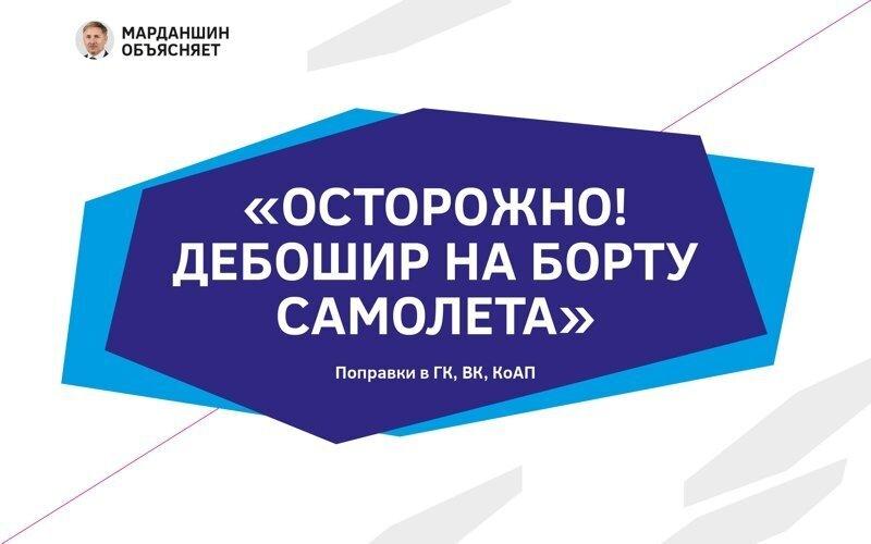 В России может появиться черный список авиадебоширов