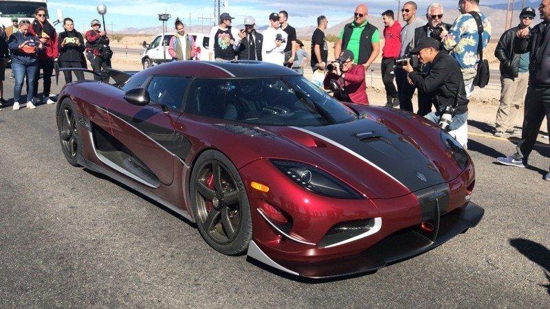 Koenigsegg Agera RS установил новый рекорд скорости