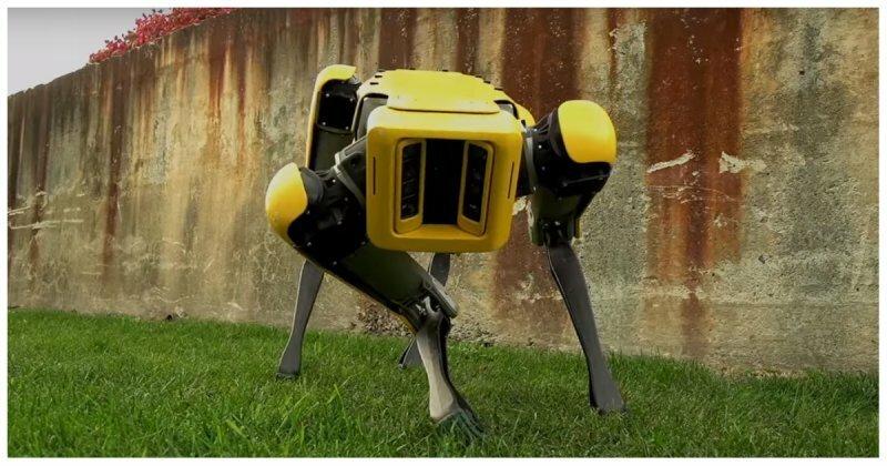 Boston Dynamics показала обновленную версию шагающего робота SpotMini