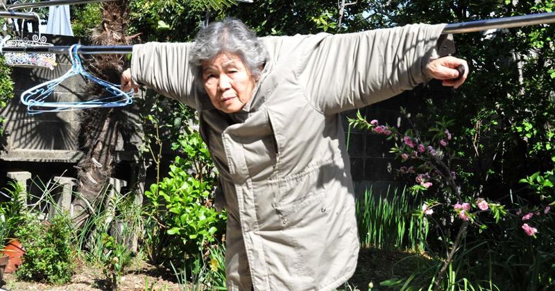 Японская фотохудожница открыла для себя фотографию в 72 года