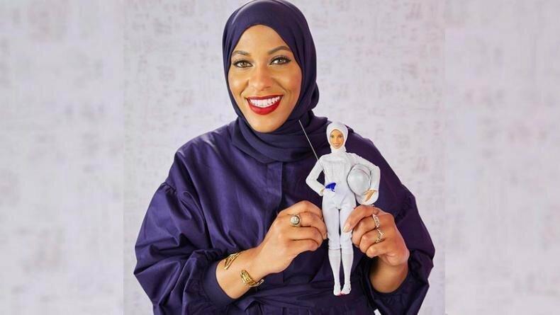 Выпущена первая в истории кукла Барби в хиджабе