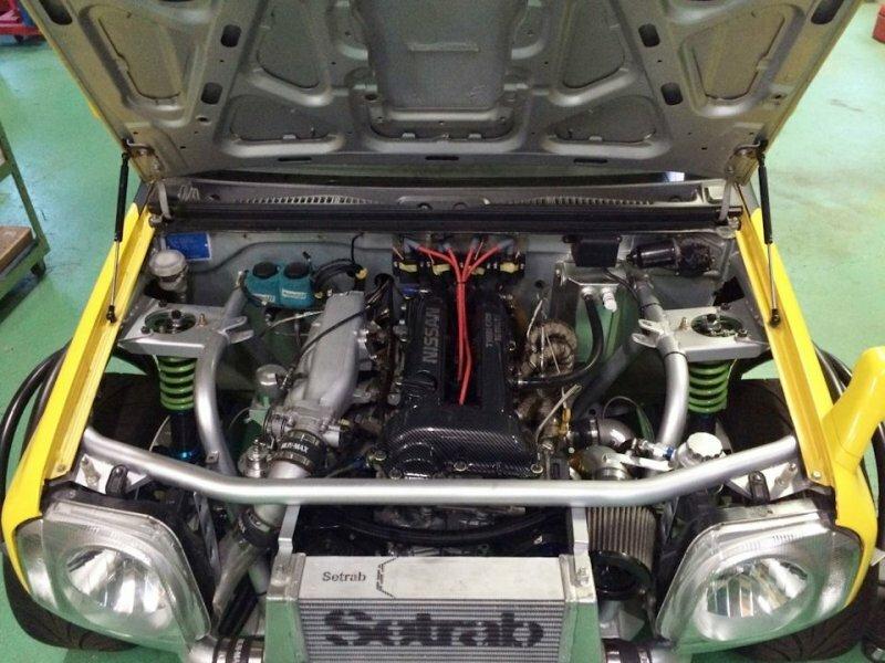 Suzuki Jimny - бешеная табуретка