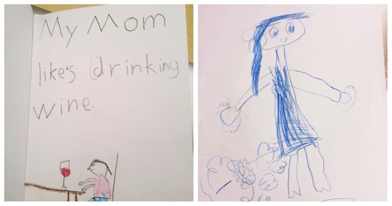18 детских рисунков и записок, раскрывающих тайны родителей