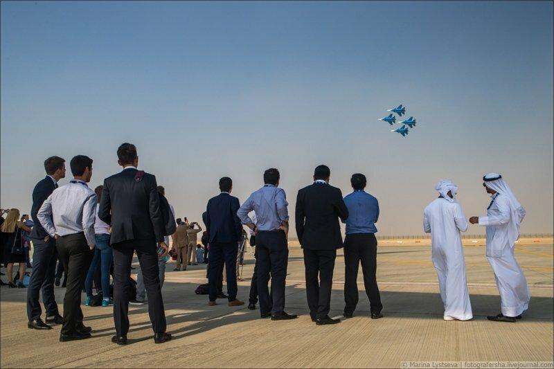 Dubai AirShow. День первый, фоторепортаж