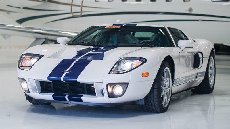 Новенький Ford GT 2006 отправится на аукцион