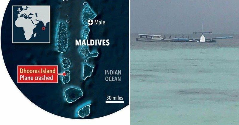 Пилоты уплыли от брошенных в море пассажиров: авикатастрофа на Мальдивах