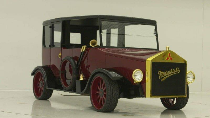 West Coast Customs построил несуразный автомобиль в стиле старинного Mitsubishi