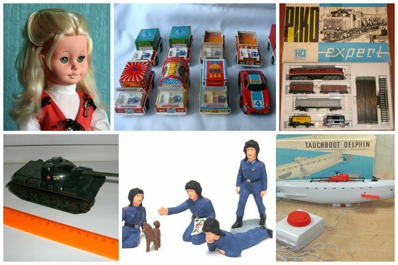 Мечта детства - игрушки из ГДР