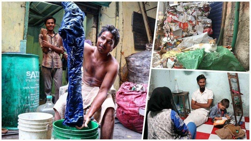 Реальная жизнь индийских трущоб Дхарави