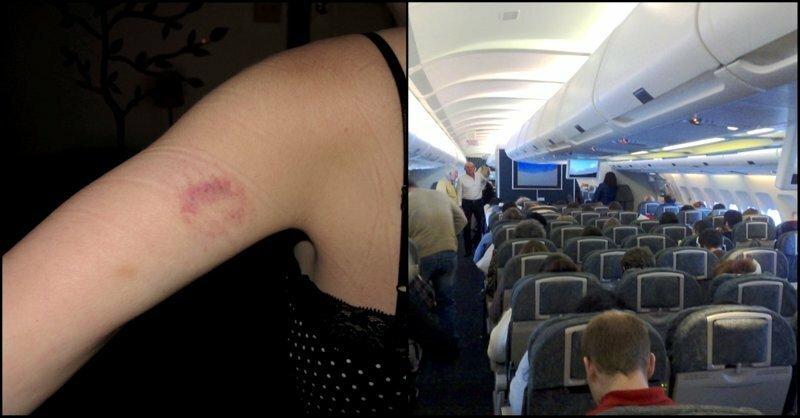 Самолету пришлось сесть и высадить пассажира, который кусал всех вокруг