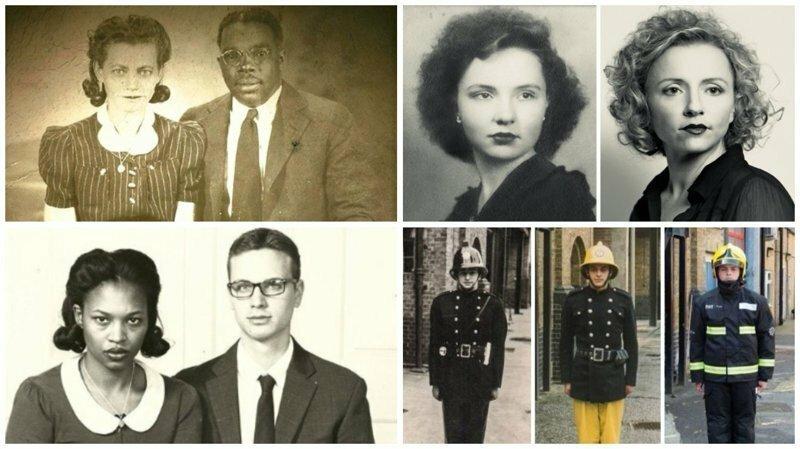 Связь времен: 25 современных инсценировок старых фотопортретов