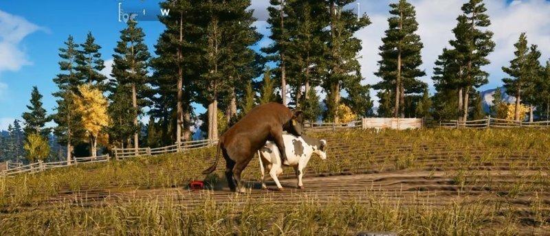 Журналист попросил Ubisoft добавить в Far Cry 5 родную ферму. Они сделали его в игре зоофилом