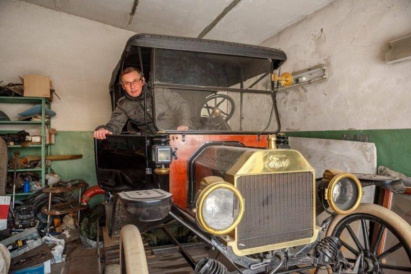 В Казани раритетный Mercedes-Benz 1937 года распилили и сдали на металлолом