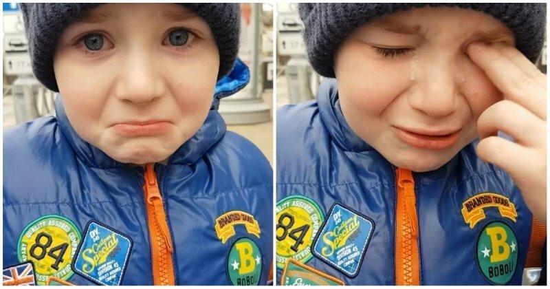 Краснодарский первоклассник расплакался из-за наступивших зимних каникул
