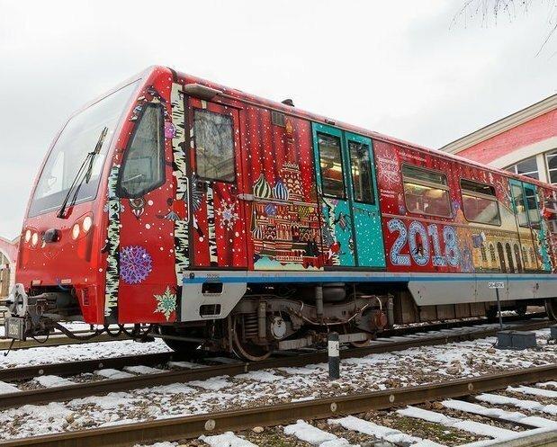 В московском метро устроили настоящий каток
