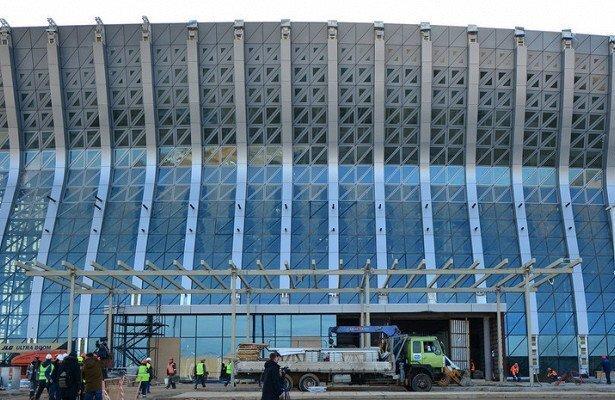 В Симферополе завершили строительство нового терминала аэропорта