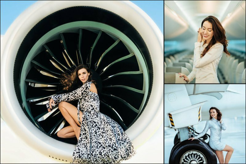 """АirBaltic представил календарь со своими стюардессами и вот фото всех прекрасных """"месяцев"""""""