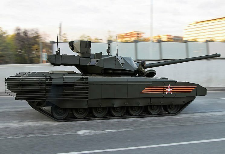 Новый танк Армата Т-14 — фото и характеристики