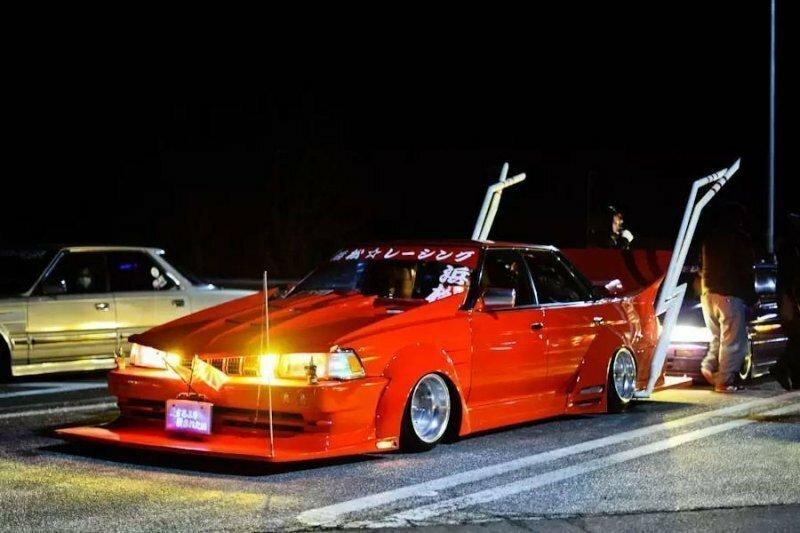 Ночь босозоку в Японии - самый странный автотюнинг в мире