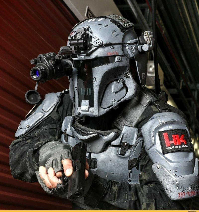Солдат будущего - оружие фантастическое и не очень