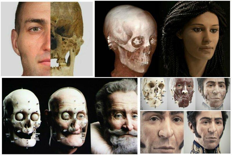 Жуткое прошлое и лица, проявляющиеся с помощью антропологической реконструкции