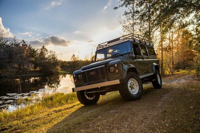 Американское тюнеры построили особый Land Rover