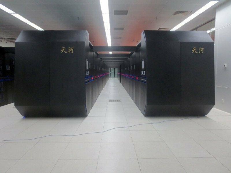 Китайский суперкомпьютер - самый мощный суперкомпьютер в мире