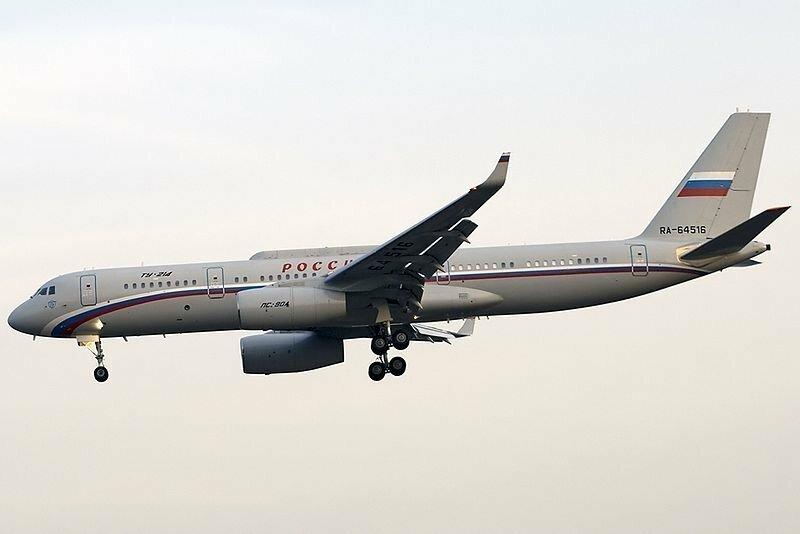 Самолет-ретранслятор Президента России
