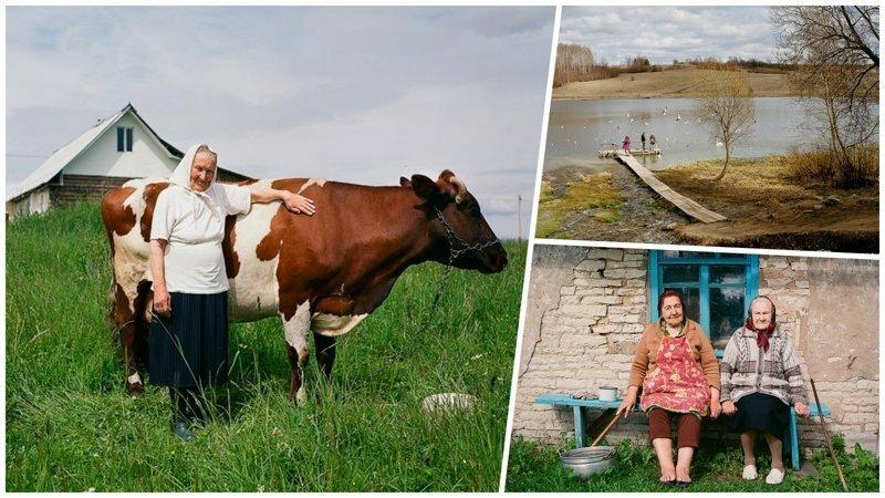Жизнь простой русской деревни в объективе профессионального фотографа