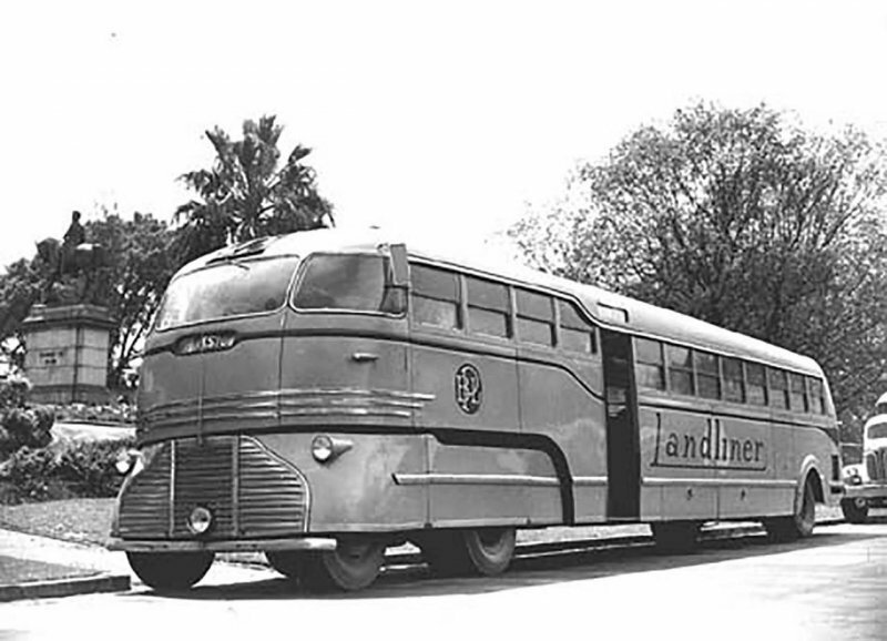 Fowler Landliner RV–41 самый удивительный автобус из Австралии