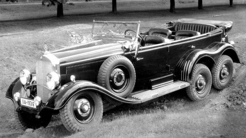 Mercedes G-Сlass 6x6: дедушка и внук