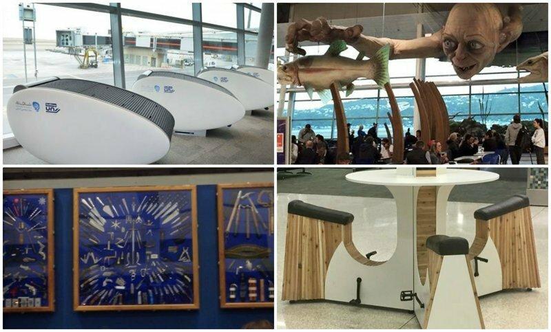 35 гениальных вещей в аэропортах и самолётах, которые удивят вас своей креативностью