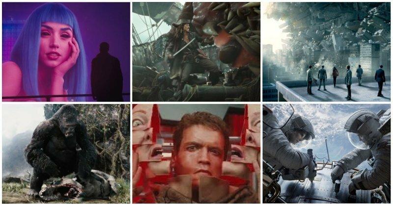 Все победители премии «Оскар» в категории лучшие визуальные эффекты (1927-2017)