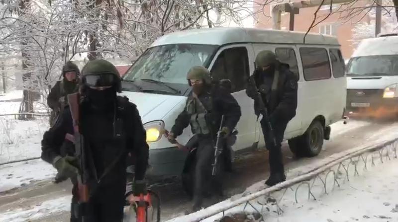 Задержание бандитов, напавших на полицейского в Саратове