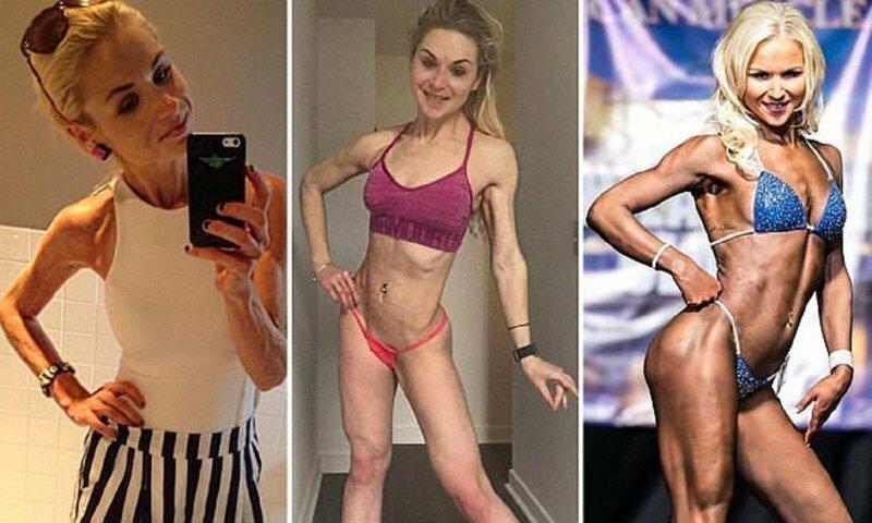 Бывшая анорексичка стала тренером по бодибилдингу