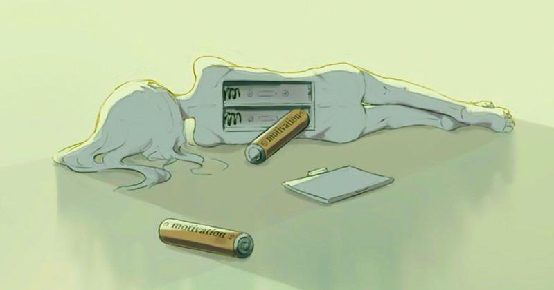 Человеческие чувства и эмоции в иллюстрациях японского художника