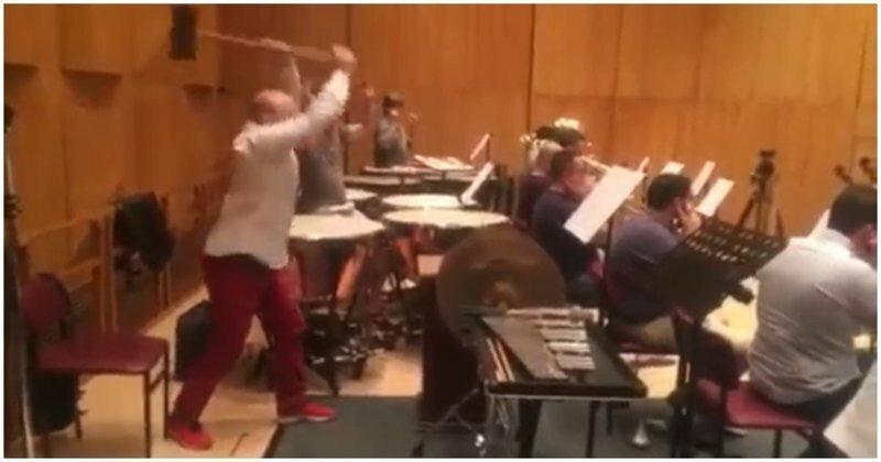 Незаменимый в оркестре музыкант немного не рассчитал силы