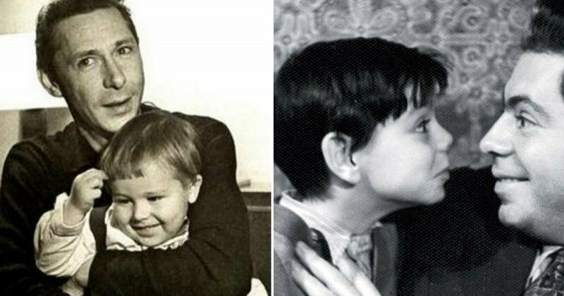 20 домашних фото советских звезд с детьми