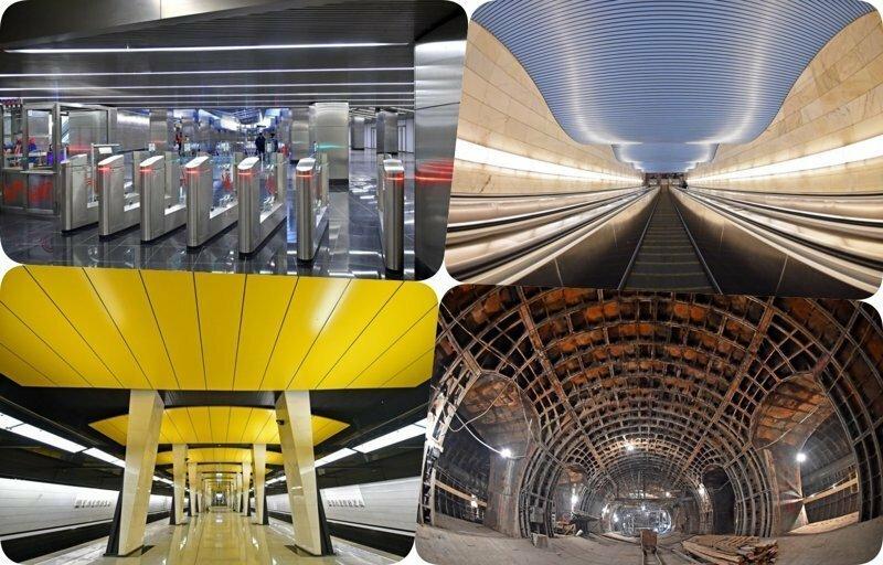 Метро будущего: как выглядят новые станции в Москве