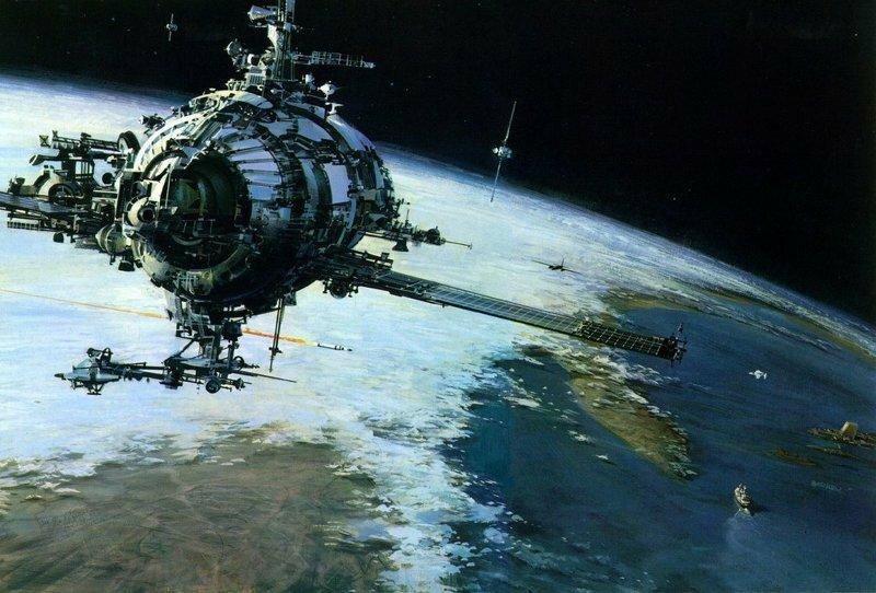 Космические корабли Джона Берки