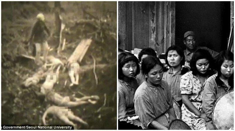 В сети опубликовали видео с места массового убийства корейских секс-рабынь