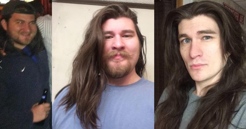Парень преобразился, сбросив 33 кило, но всех поражает его причёска