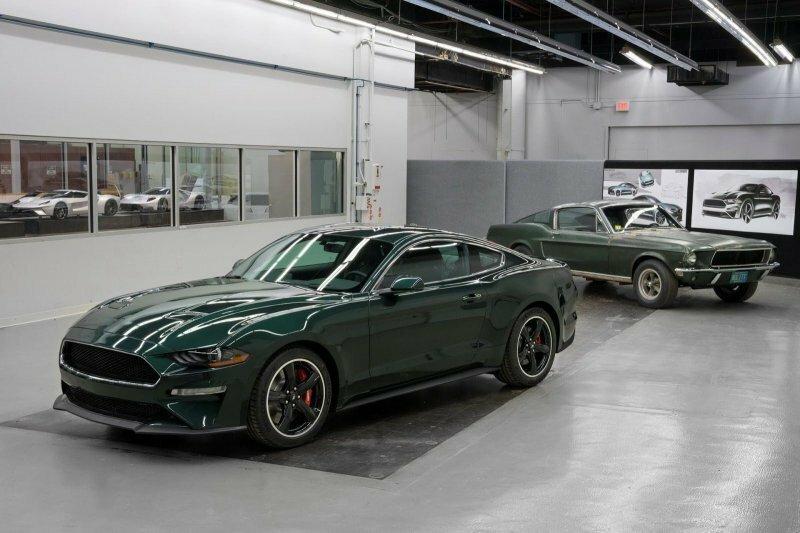 50 лет легенде: Ford возродил Mustang Bullitt