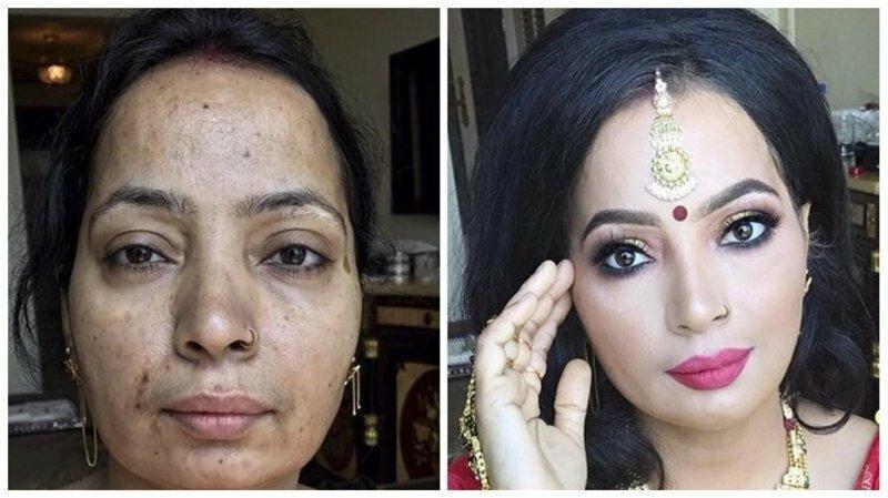 27 невероятных преображений с помощью макияжа