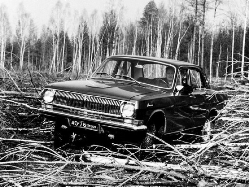 ГАЗ-24-95 — история непризнанного внедорожника