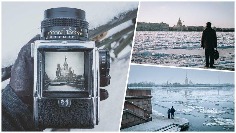 Удивительные снимки зимнего Санкт-Петербурга от французского фотографа