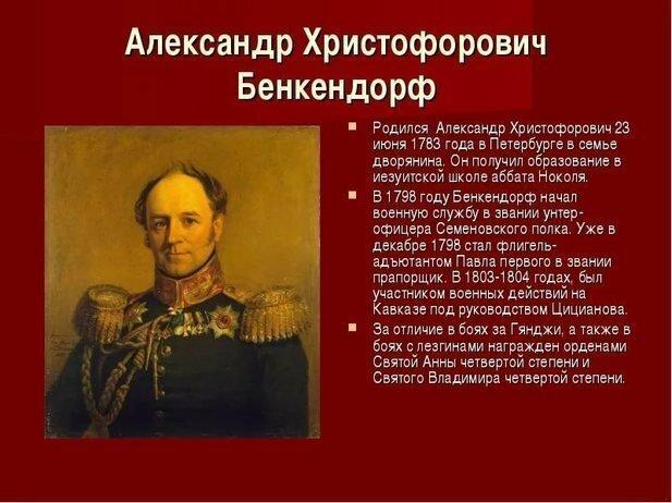 Речь Бенкендорфа на следствии по делу декабристов