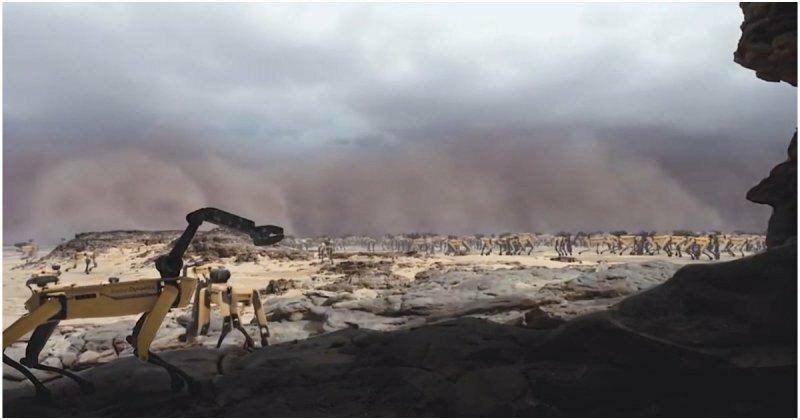 Как будет выглядеть мир, если его захватят роботы Boston Dynamics